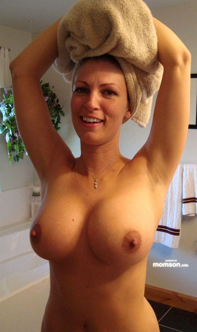 hot nude moms nude mom naked tits hot showing shower after moms