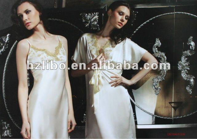 hot sexy matures mature women photo hot sexy sleepwear product silk satin nightgowns