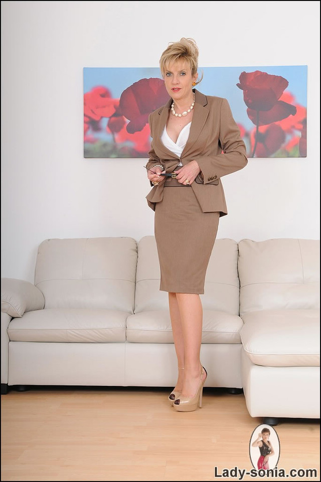 mature secretary porn mature gallery hot strip business nylons secretary suit