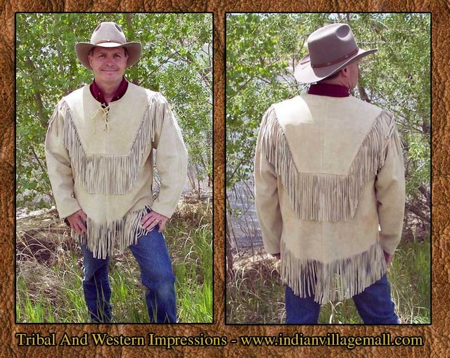 old west porn over from shirt handmade jacket tribal pull impressions menscoats hondaa honda fringed