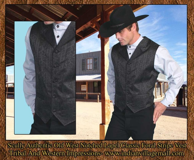 old west porn old black from west western vest vests notched lapel scully tribnal