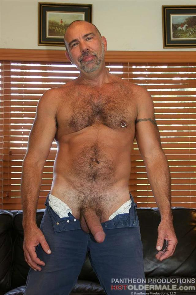 older male porn amateur porn older gay hairy cock hot male muscle thick daddy stroking his proud jason