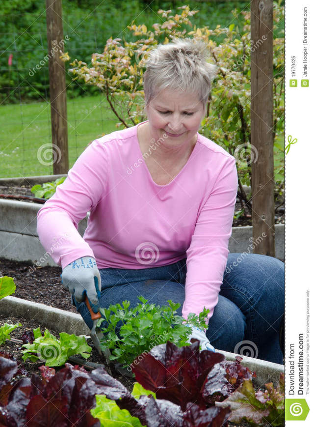 older woman porn picture older woman more stock similar gardening