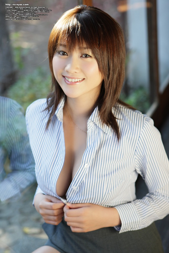 lady porn photos lady pictures strip stripping office hara mikie