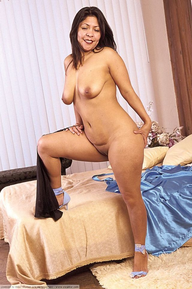Women Latina mature nude