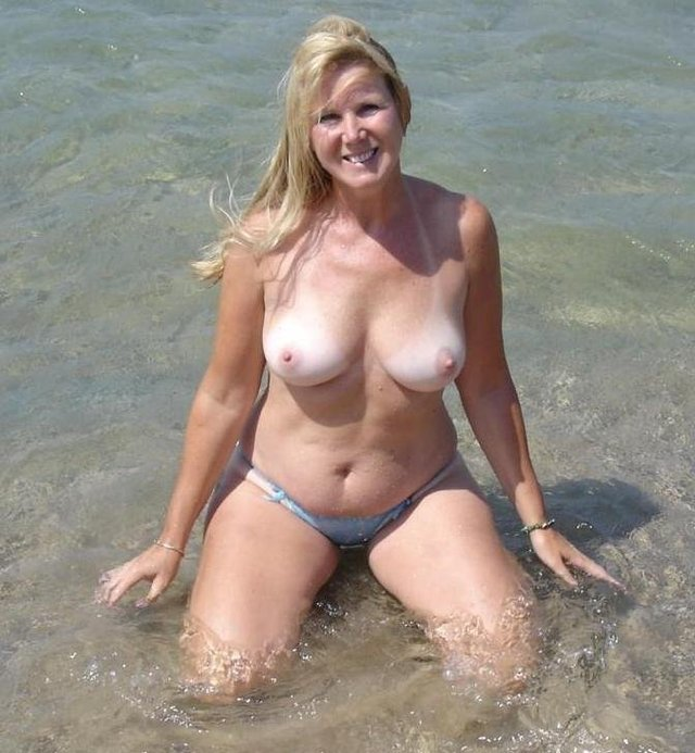 mature beach porn pictures amateur mature beach granny playing featured