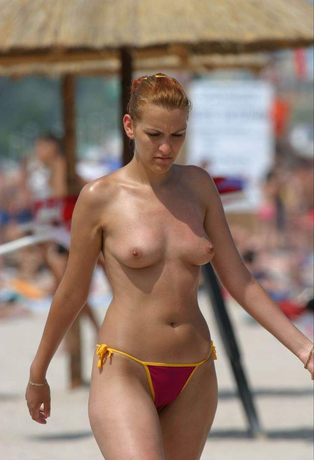 Bikini nipples nude photos
