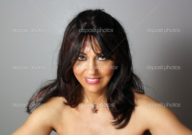 mature close up mature woman photo beautiful depositphotos stock headshot