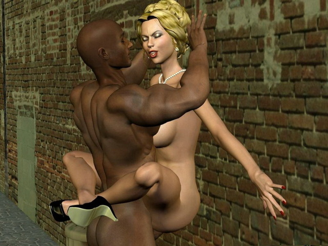 mature interracial porn porn pics fuck interracial cartoon against wall