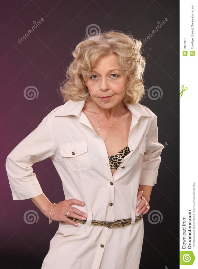 mature lady photos lady mature blond stock photography