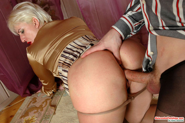mature milf images old young