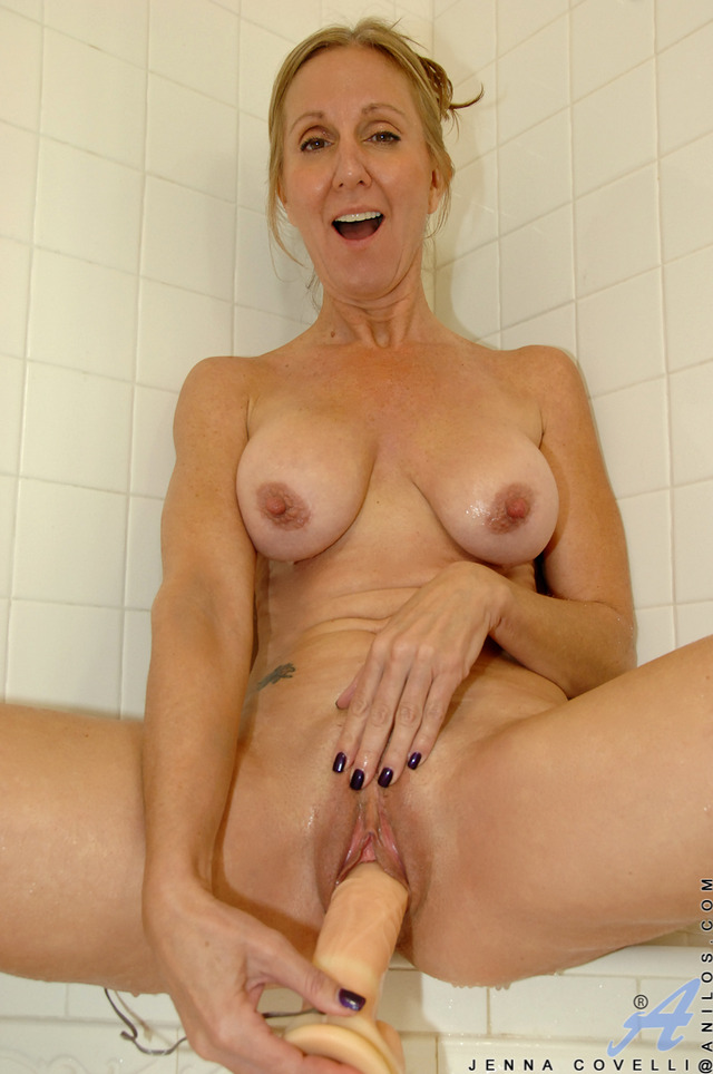 Milf jenna covelli shower