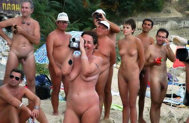 mature nudist pics mature young holiday naturists