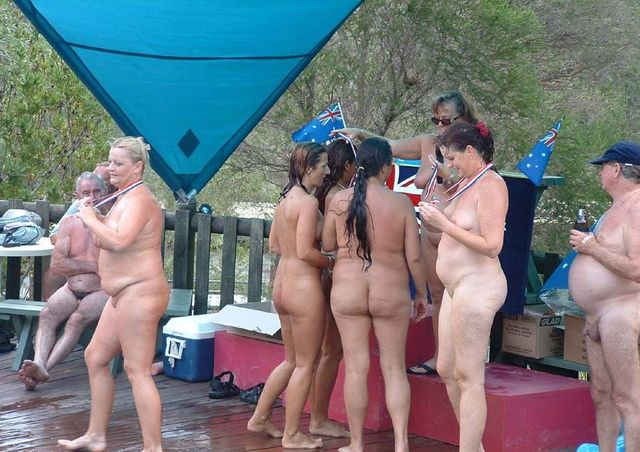 mature nudist picture mature family nudism