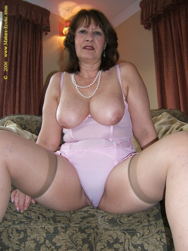 Granny panties mature