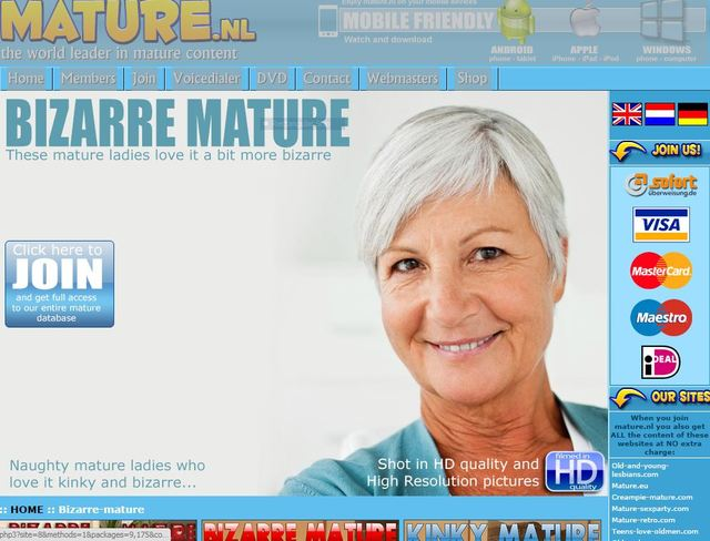 mature porn site mature bizarre capture