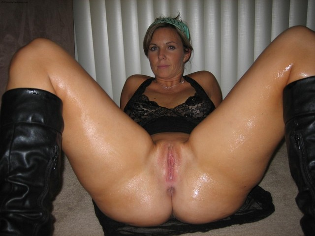 Sexy milf caught masturbating