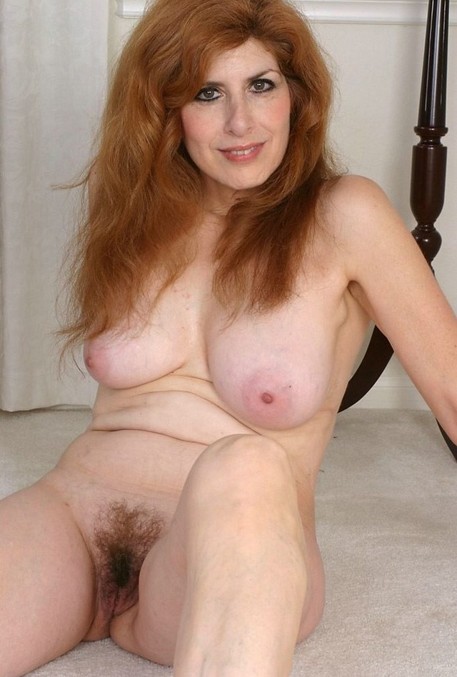 mature red head porn mature pussy hairy spreading tits legs redhead