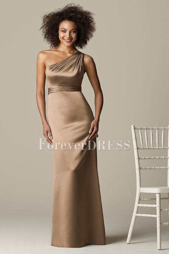 mature sexy gallery mature sexy one dress bridesmaid shoulder styled oneshoulder tucked brmdss