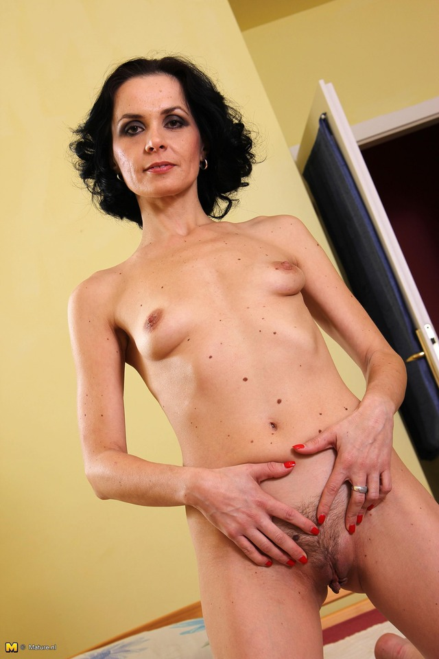 mature small boobs milf hot boobs small smoking