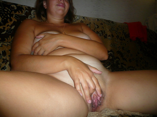 wife playing with pussy