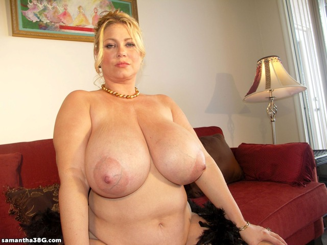Milf dangling tits