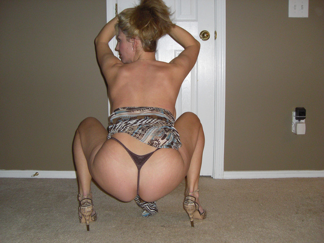 Milf squatting upskirts really. happens
