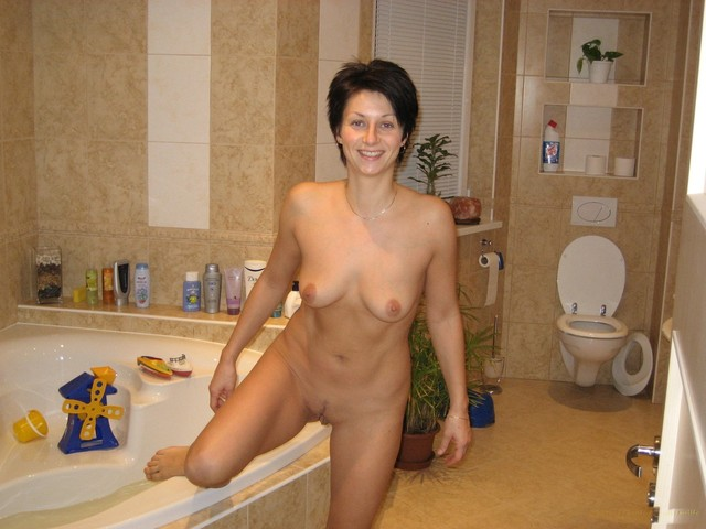 milf wife photos bathroom wifes