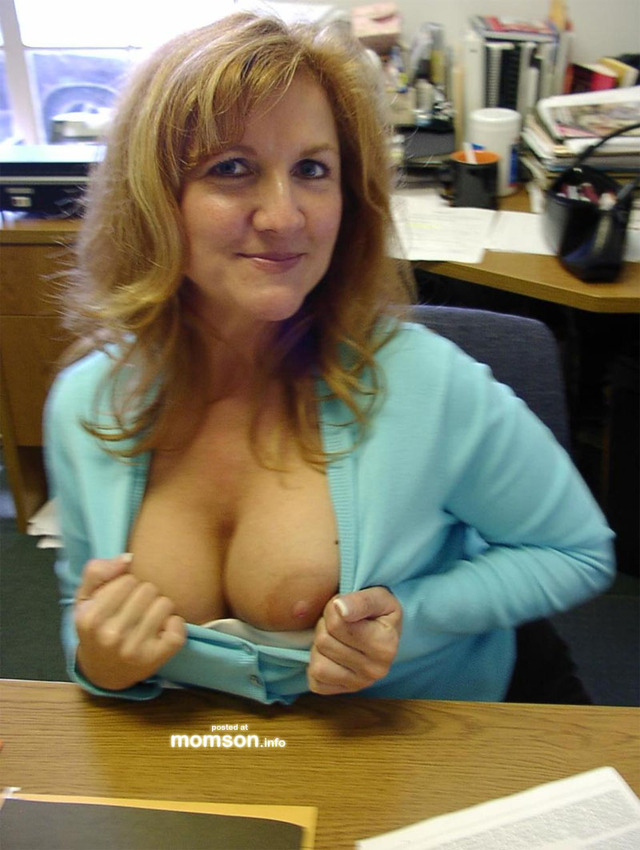 moms tits photos mom tits flashing office