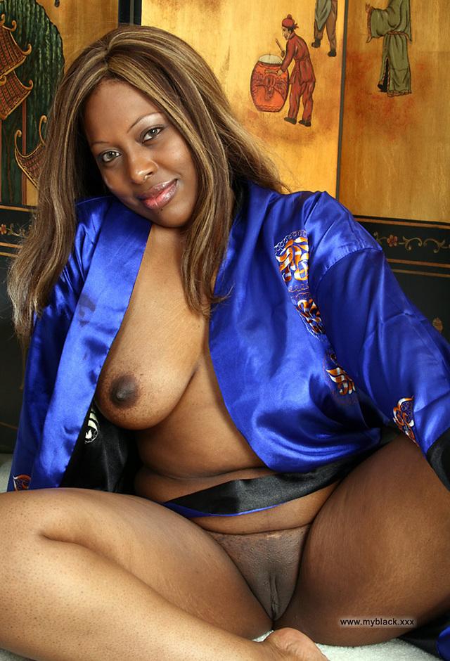 Black granny nude