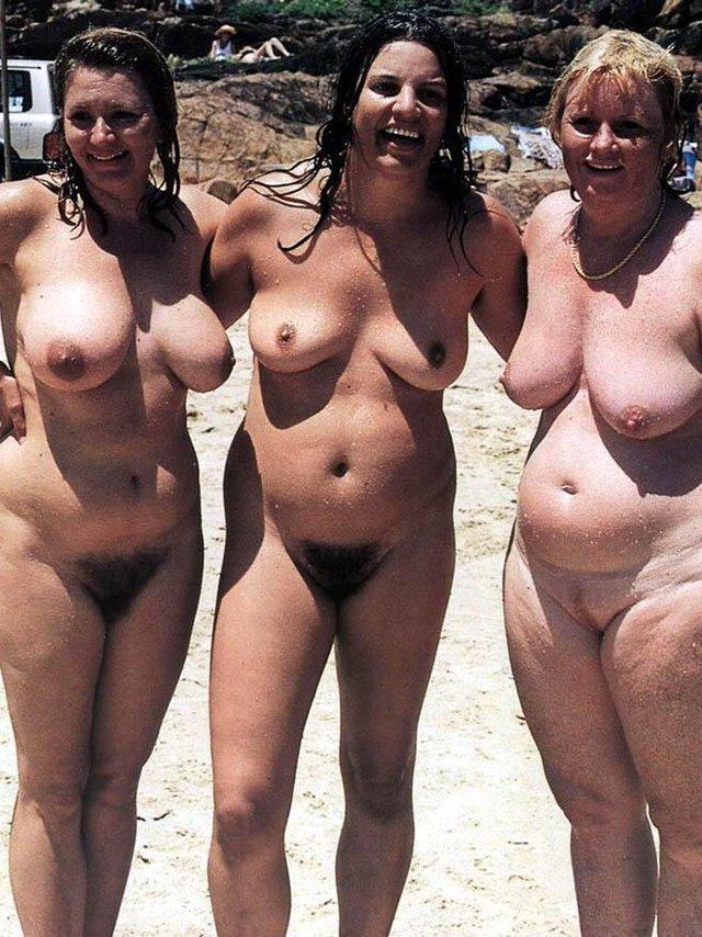 нудисты толстые фото