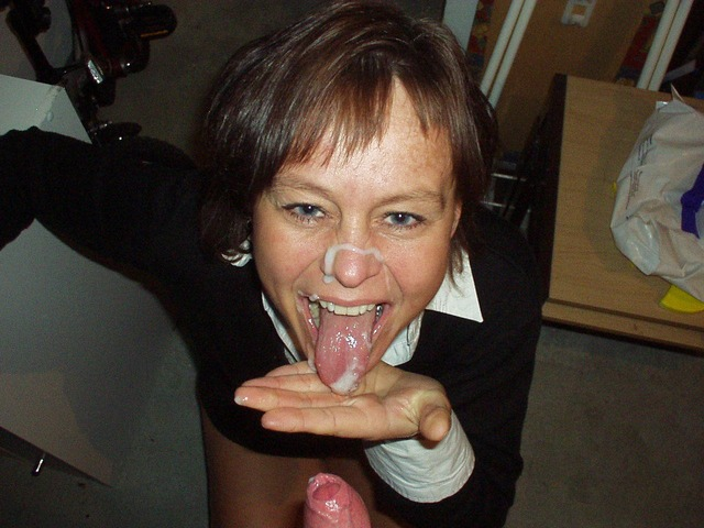 Сперма на лице (145 фото) .