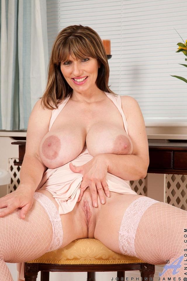 Volumptous plump mature older women