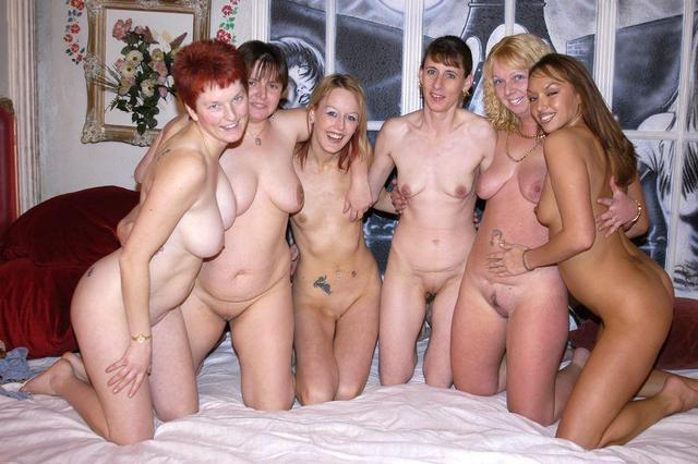 Naked older women group photo something
