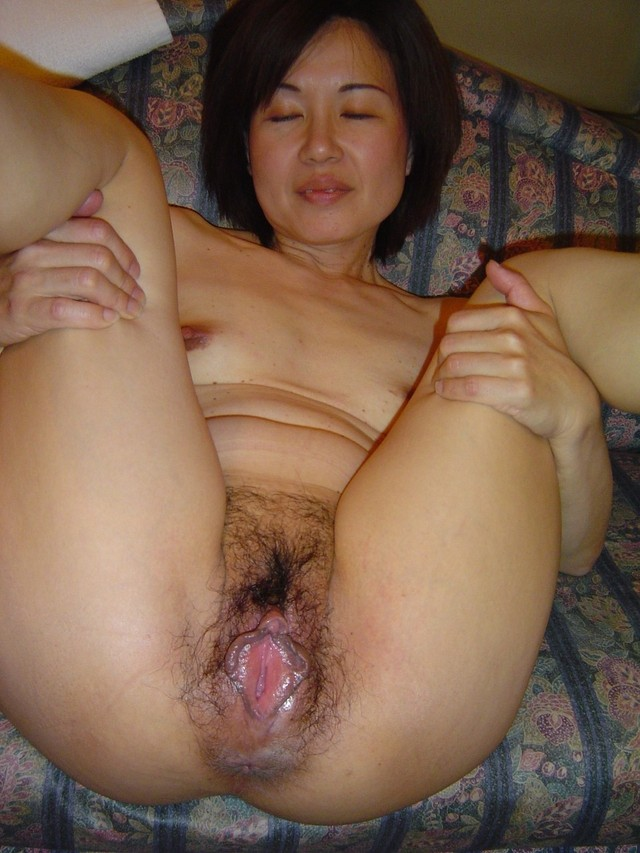 Seems excellent japanese older pussy