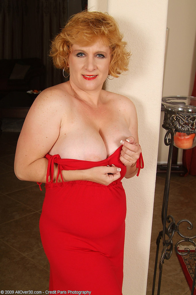 mature red mature porn galleries over all redhead red chrissy dress drops