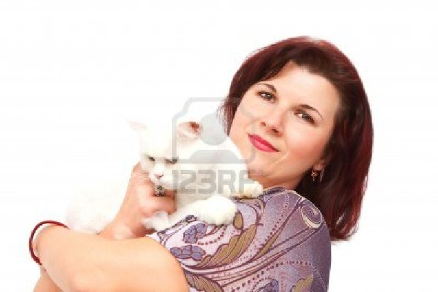 mature redhead mature photo beautiful white redhead cat isolated holding igabriela