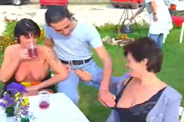 Mature Orgy Outdoor 97