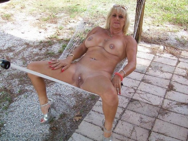 Quickly Grandma outdoors slut what