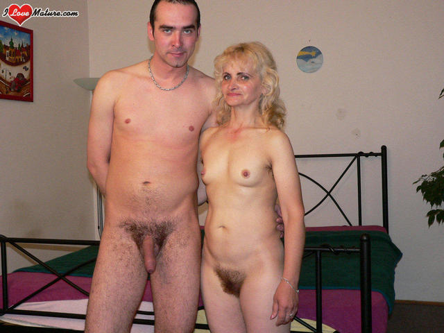 older woman dating a younger man