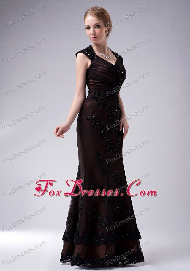 pictures of sexy mothers mother brown mermaid dresses dress bride proxy appliques hlen foxdresses