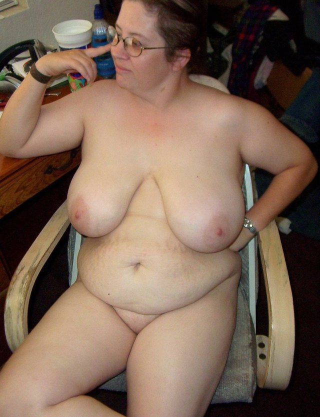 Sexy! White chubby fat women that