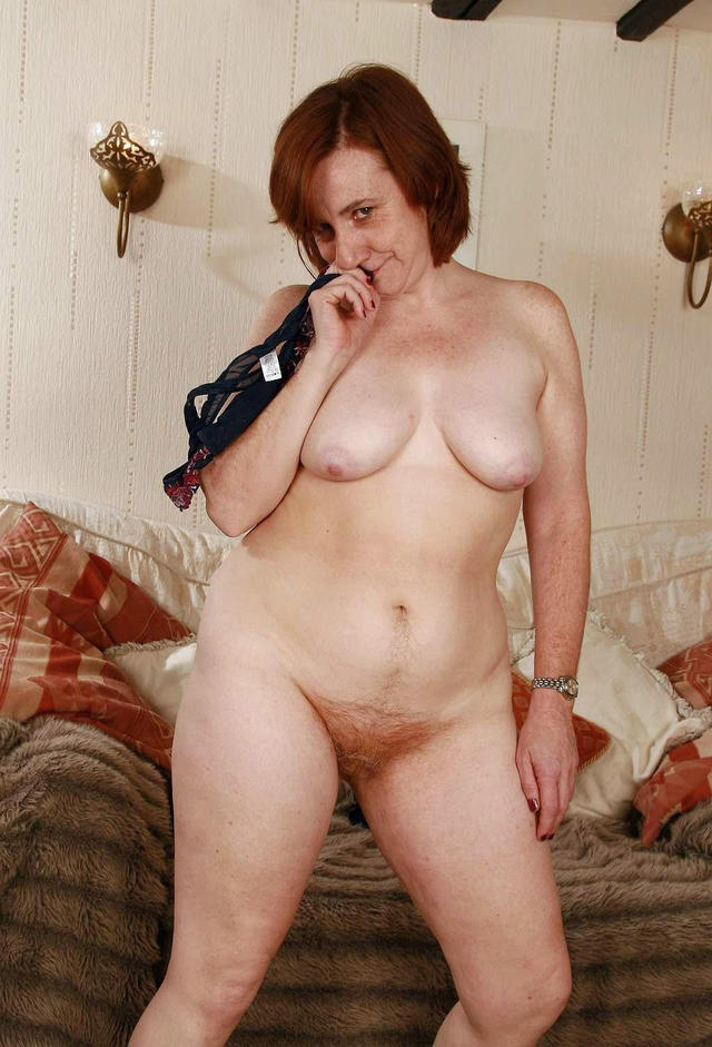 redhead mature lady mature porn hairy photo redhead