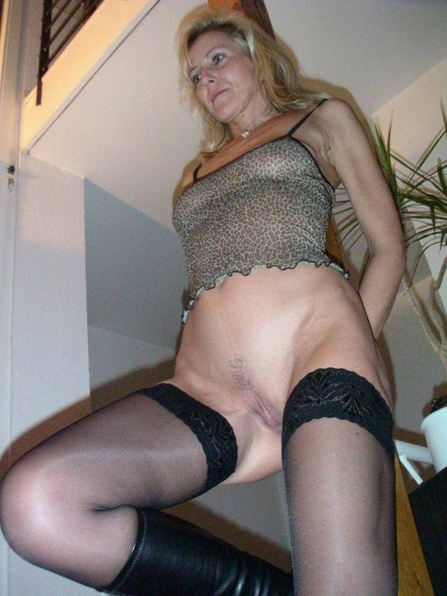 Milf with butt plug