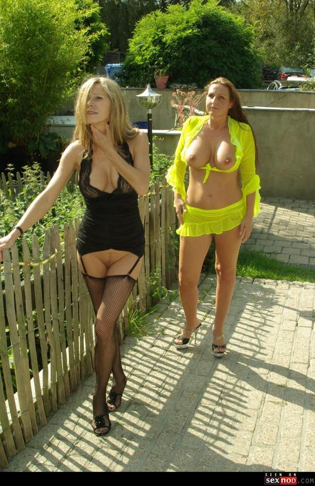 tits heels mature mature tits heels topless out wmimg outdoor hotwife duo bottomless hotmichelle spermalina