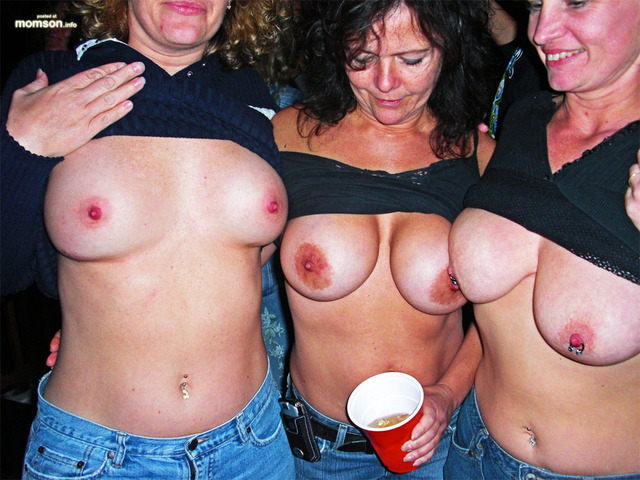 Two drunk milfs my friends