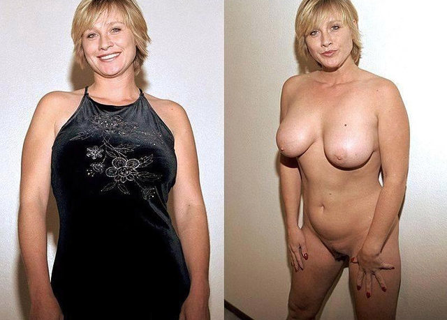 Wives dressed undressed nude there