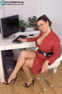 fantasy mature office porn gallery bridgette officer stream