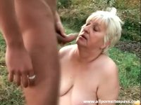 free fat old porn videos screenshots preview bangs fat old slut outdoors