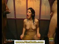 free golden porn shower golden shower spraying sluts get drenched